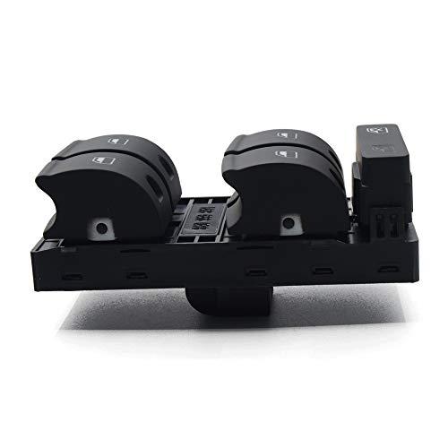 TXKMO Ventana de Control Electrónico Interruptor de botón de la Consola/for Audi A4 S4 B6 B7 RS4 / for los Seat Exeo (Color : Black)