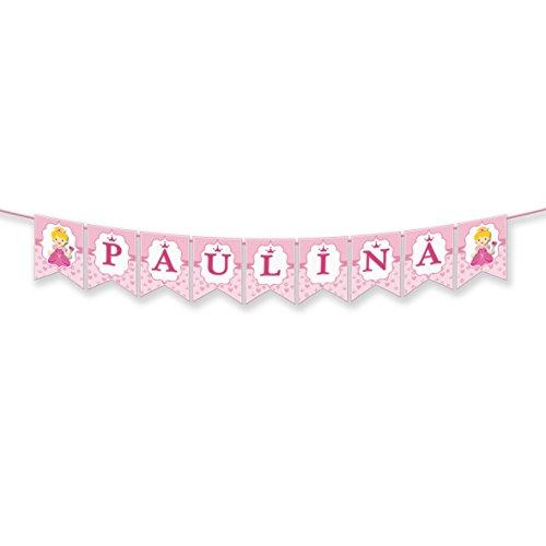 EuroFiestas Guirnalda Nombre Paulina, Paula o Luna