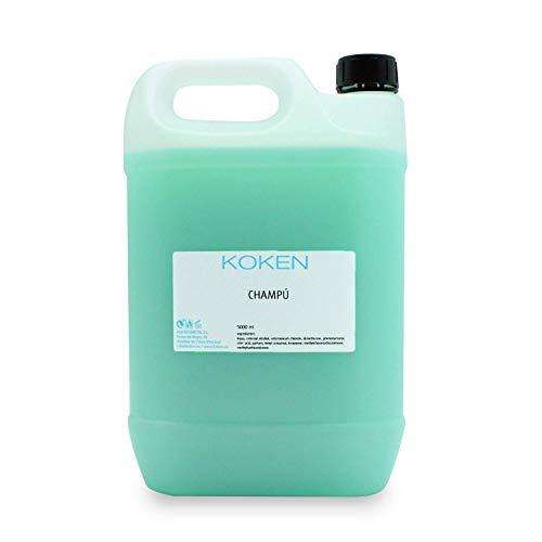 KOKEN - Champú Neutro Profesional 5L- Fórmula neutra y suave, todo tipo de cabello, uso diario