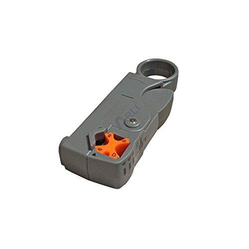 Abisolierer für Kompressionsstecker Koaxialkabel 4-9 mm Sat F Stecker Werkzeug