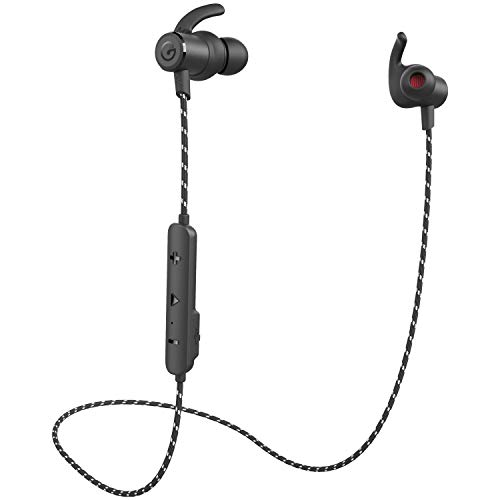 ワイヤレスイヤホン ears Bluetoothイヤホン bluetooth5.0 技適認証 ipx6防水防塵 重低音 HIFI 左右一体型 スポーツ ランニング仕様 カナル型 CVC6.0ノイズキャンセリング MEMSマイク クリア通話 メタル ブルートゥースイヤホンiPhoneなど多機種対応 (黒)