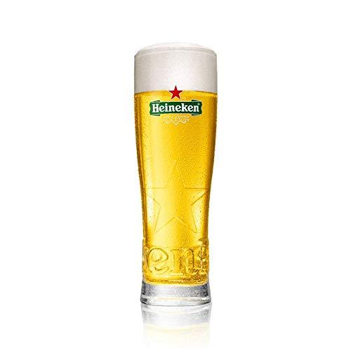 TUFF LUV Original Glass/Pint Glass/Glasses/Barware CE 20oz for Heineken Star Lager