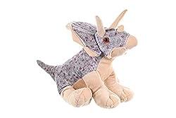 7. Wild Republic Triceratops 12″ Plush Cuddlekins