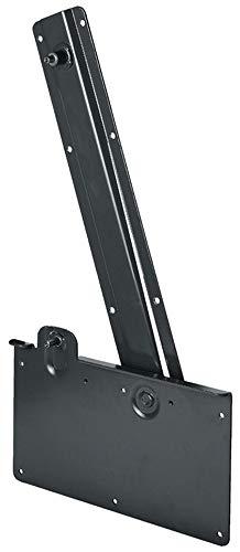 Gedotec Klappbett-Beschlag zum Einbau längs Klappenbeschlag | Stahl pulverbeschichtet schwarz | Bettlift für Wand-Schrank | Bettbeschlag mit Tragkraft 100 kg | 1 Garnitur - Scharnier für Klappbetten