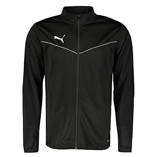 PUMHB|#Puma Teamrise Training Poly Jacket, Giacca Tuta Uomo, Puma Black-Puma White, S