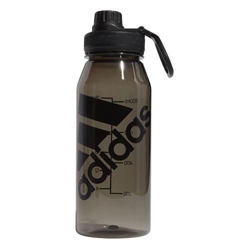 adidas Superlite 1L (32 oz) Plastic Water Bottle,Black/ Black,ONE SIZE