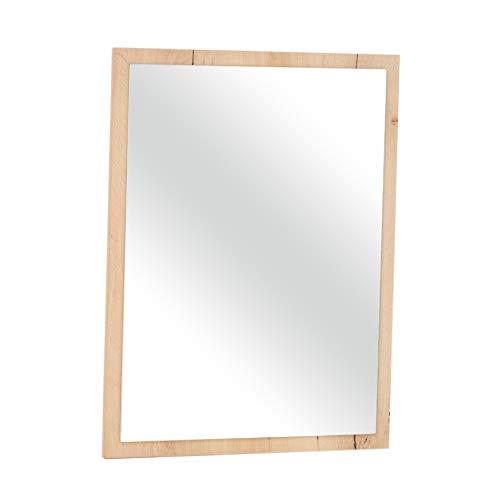 Italian Concept JEAL staande spiegel met frame van eikenhout, uniek