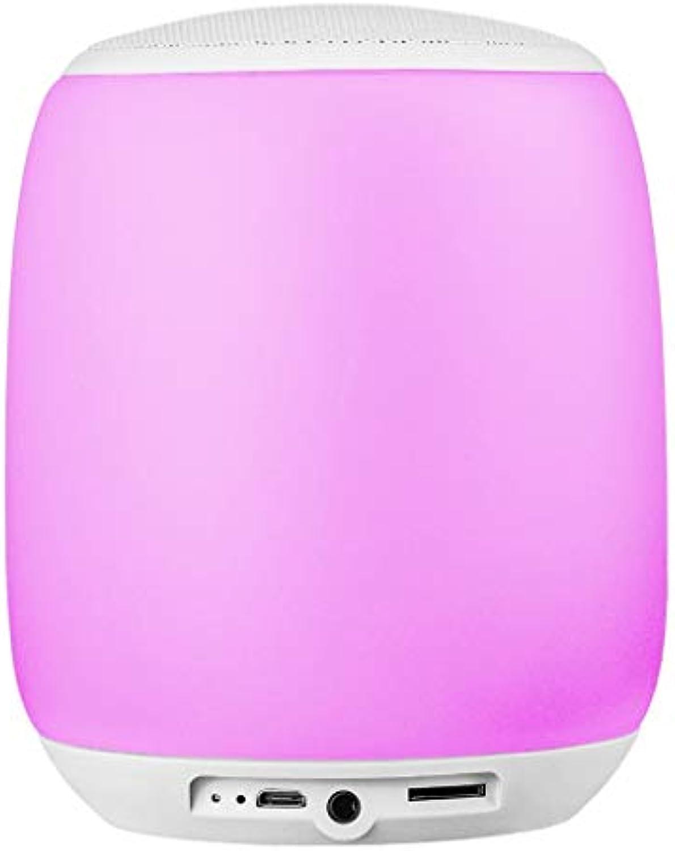 Q5 Nachtlicht Blautooth-Lautsprecher, tragbare Nachttischlampe, drahtloses dimmbares Nachtlicht, ideales Geschenk für Kinder