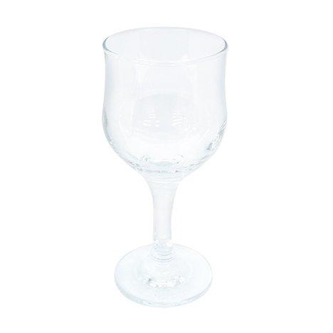 takestop® Kelk Tulipe ITD_CD44167 glas 20cl transparant waterglazen wijnglas rood wit