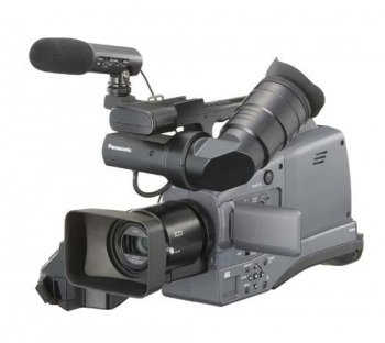 Best Buy! Panasonic AG-HMC70 - Professional 3-CCD AVCHD Shoulder-Mount Camcorder