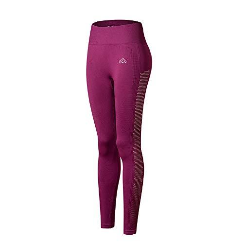 SEGRILA Damen Hohe Taille Yogahosen Gym Leggings Seamless Sport Fitness Yoga Hose Strumpfhosen