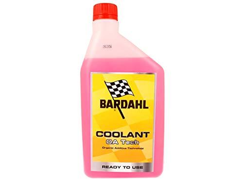 Bardahl Coolant OA Tech Liquido Refrigerante Anticongelante Rosa per Moto Pronto all Uso Inibitore di Tipo Ibrido Oat 1 LT