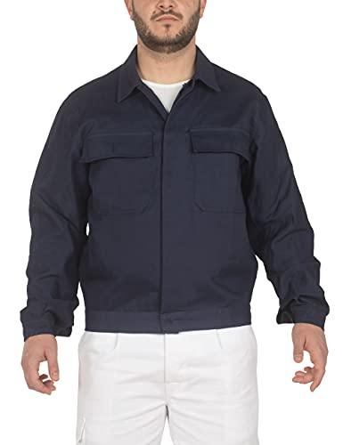 C.B.F. Balducci Giubbetto da Lavoro in Cotone - Blu (XL)