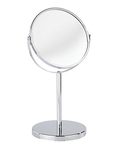 Kosmetik-Standspiegel Assisi Schwenkbar 300% Vergrößerung Chrom 17 cm ca. 36 x 20 x 16 cm