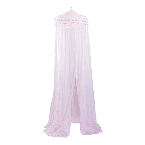 ケーアイジャパン 蚊帳 ピンク リング径:φ66cm、高さ:310cm