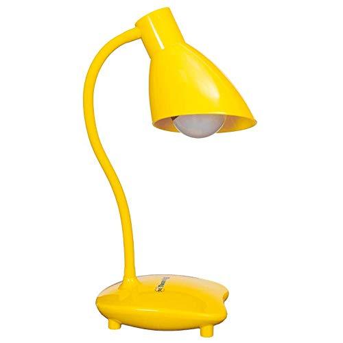 LAMPARA DE MESA DE LA MANGUERA EL MODELO BASE COLOR AMARILLA Solo se puede utilizar bombilla LED 5w.