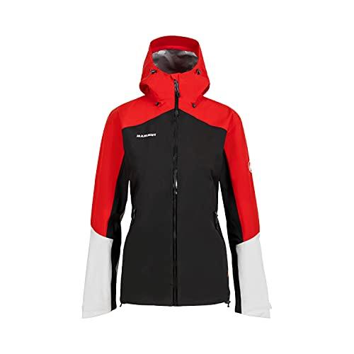 Mammut Convey Tour HS Hooded Women's Jacket Black/Magma S