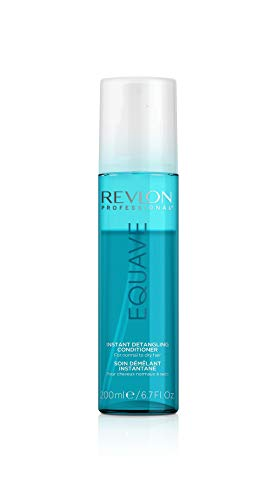 REVLON PROFESSIONALEquave Soin Démêlant Instantané sans Rinçage 2 Phases Hydronutritif Hydratant Cheveux Secs, 200ml