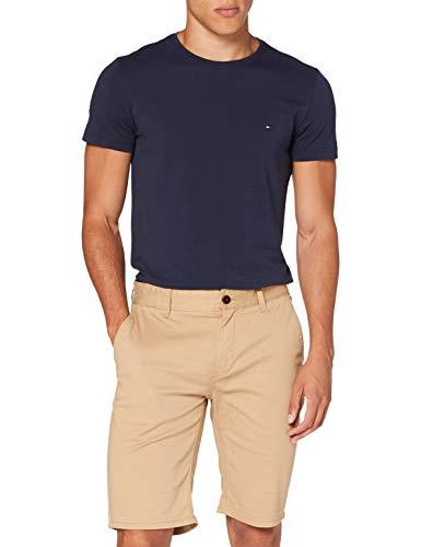 Tommy Jeans Herren TJM Essential Chino Short Straight Jeans, Grün (Classic Khaki RBL), 31W / 30L