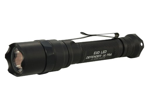 SUREFIRE 【2013 最新】 E2DL ディフェンダー ウルトラ 600ルーメン E2DLU-A-BK Defender Ultra シュアファイア Dual-Output LED E2D IMPORT