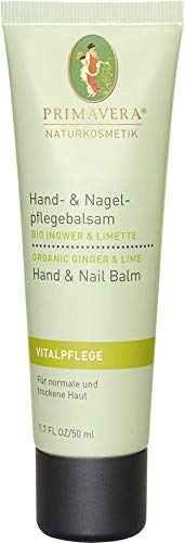 Primavera Life Bio Hand- & Nagelpflegebalsam Ingwer Limette (2 x 50 ml)