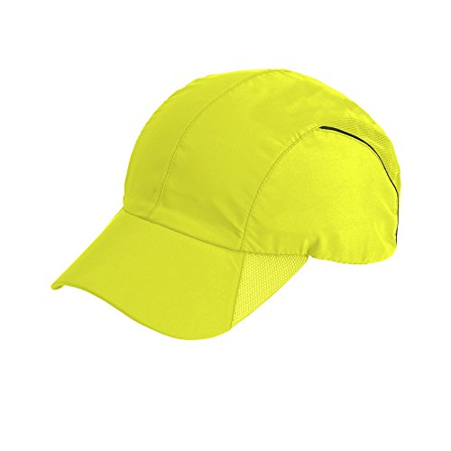 Spiro - Gorra deportiva modelo Impact (Talla Única/Amarillo Fluorescente)