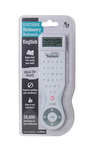 IF Electronic Dictionary Bookmark Single Language Definitions - English, White