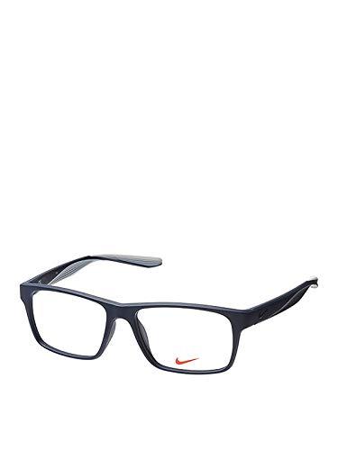 Nike Herren 7101 400 53 Brillengestelle, Schwarz (Matte Obsidian)