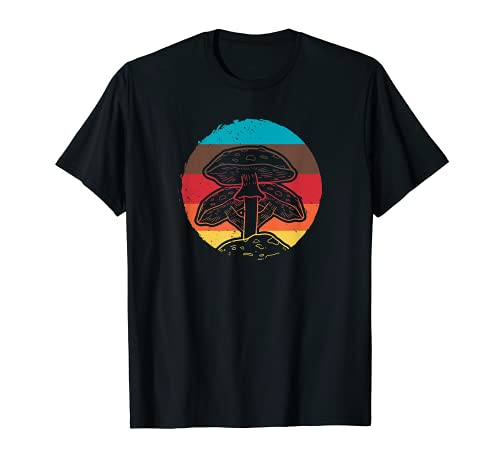 Retro Vintage Pilz Forager Magic Mycology T-Shirt