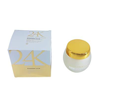 Gold Progress, crema riparatrice di lusso, 24 K, a base di particelle d'oro, viso, collo e décolleté, rassodante, riparante, 50 ml