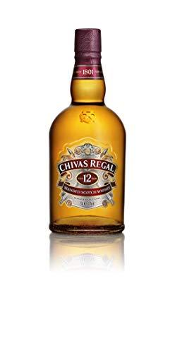 Chivas Regal 12 Jahre Premium Blended Scotch Whisky – 12 Jahre gereifter Blend aus schottischen Malt und Grain Scotch Whiskys aus der Region Speyside – 1 x 1 l