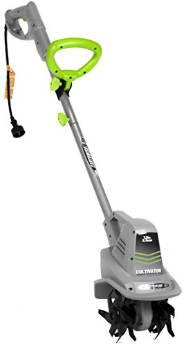 Earthwise TC70025 7.5-Inch 2.5-Amp Corded Electric Tiller/Cultivator, Grey