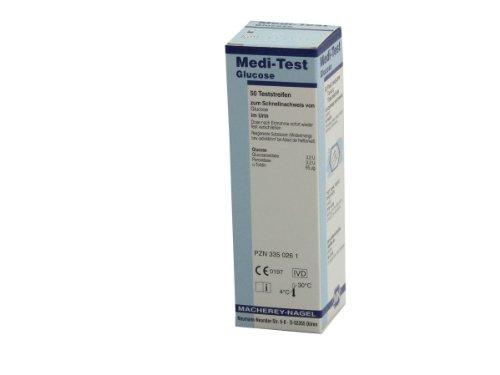 MEDI TEST Glucose 3 Teststreifen, 50 St