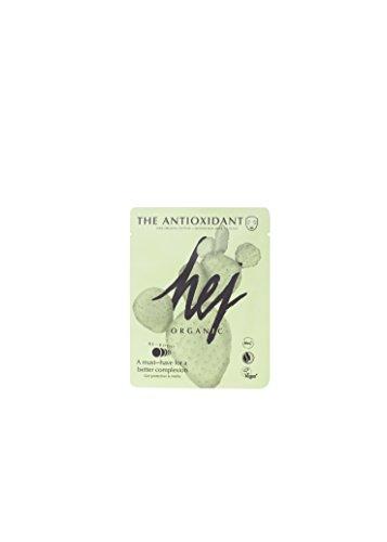 HEJ ORGANIC Tuchmasken-Set Naturkosmetik ∙ Sheet Mask The Antioxidant Set 3 x 22 g Tuchmasken für Männer und Frauen ∙ reich an Antioxidantien, feuchtigkeitsspendende Gesichtspflegemaske, vegan