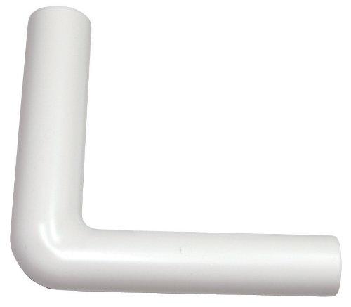Anschlussbogen für Spülkasten | 230 x 230 mm | Kunststoff | Tiefspülkasten | WC, Toilette | Weiß