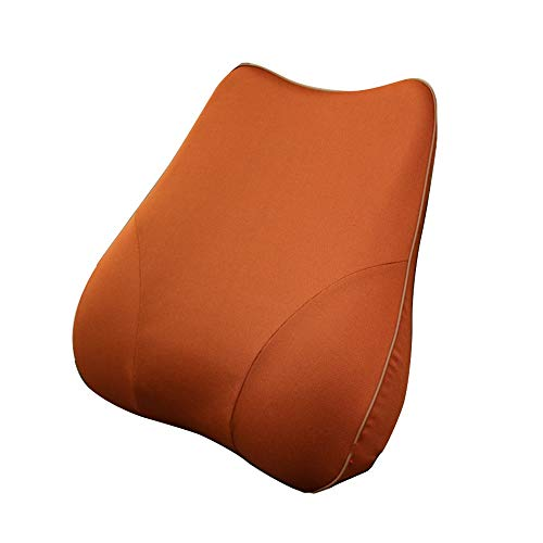 Cojín de soporte lumbar Cojín de soporte trasero para silla de oficina Asiento de coche para sillas de ruedas y reclinable asiento de coche con almohada lumbar espuma de memoria Para la silla de ofici