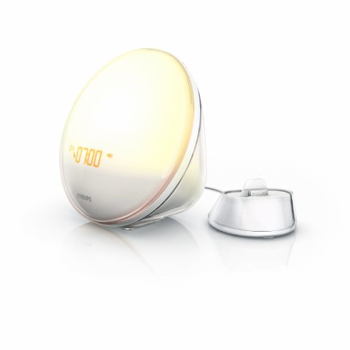 Philips HF3550/01 Wake-Up Light (nur mit iPhone 4S/4/3GS nutzbar) weiß