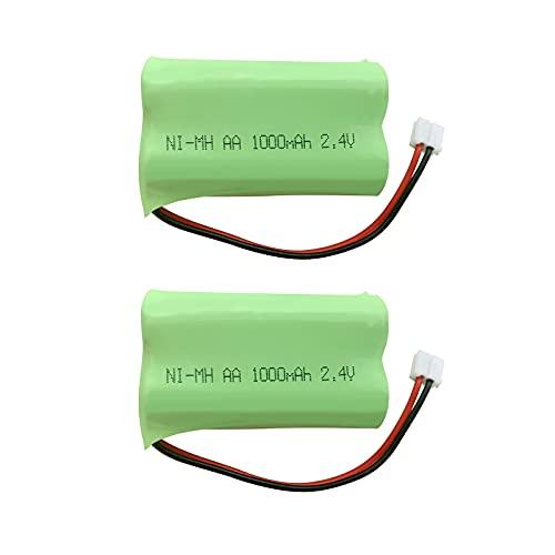 パイオニア Pioneer TF-BT07 互換用 HHR-T313 / BK-T313 対応 コードレス子機用充電池 互換電池 J013C ニッケル水素電池2.4V 1.0Ah 充電電池 コードレス電話 FAX用交換充電池 ハンドスキャナー用交換充電池 コードレスホン子機用充電池 2個セット 2年間メーカー保証