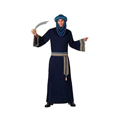 Eurroweb - Disfraz para adulto bereber azul (3 piezas)