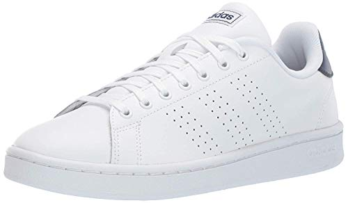 White Tennis Shoes for Men Leather Uppers