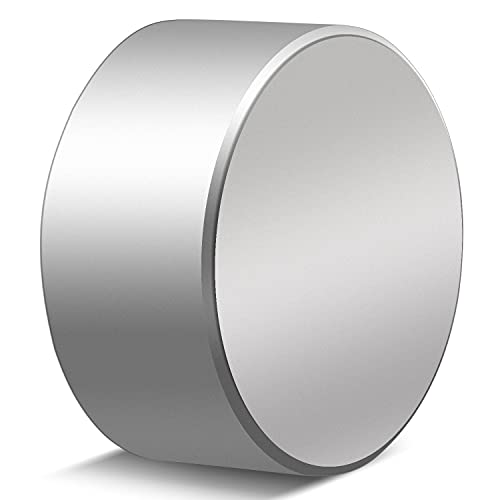 MIKEDE 40X20mm Super Strong Neodymium Magnet, Powerful Magnet Disc Permanent Rare Earth Magnets - One Piece