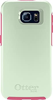OtterBox SYMMETRY SERIES for Samsung Galaxy S6 - Retail Packaging - Melon Pop  Sage Green/Hibiscus Pink