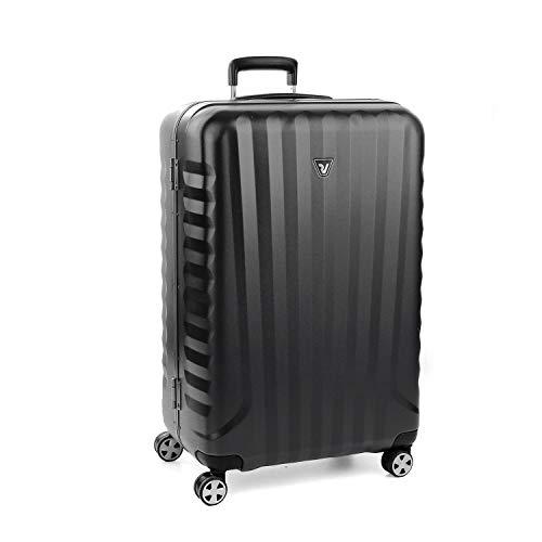 Roncato Maleta Grande L Rigida Uno DLX - cm. 75 x 50 x 30 Capacidad 100 L, Organización Interna, Cierre TSA, Garantìa 2 años