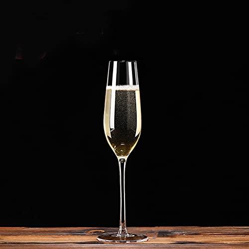 Nueva llegada elegante diseño cristal champán vidrio copa chispeante vidrio creativo vino copa (Color : 3)