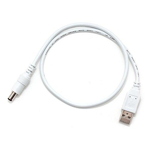 Cable de conexión USB a DC de conector para tiras LED de 5V
