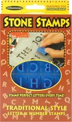 Milestone Stone Stamps Traditional Style Letters and Numbers 905-20-510 (3-Pack)