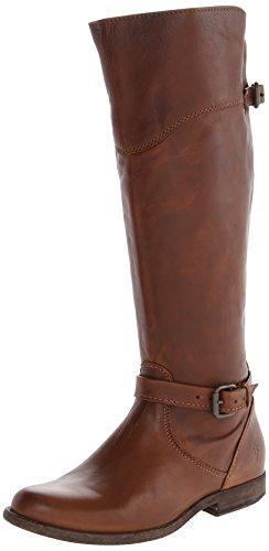 FRYE Botas de equitación Phillip para mujer, (Cognac suave clásico piel-76844), 35.5 EU