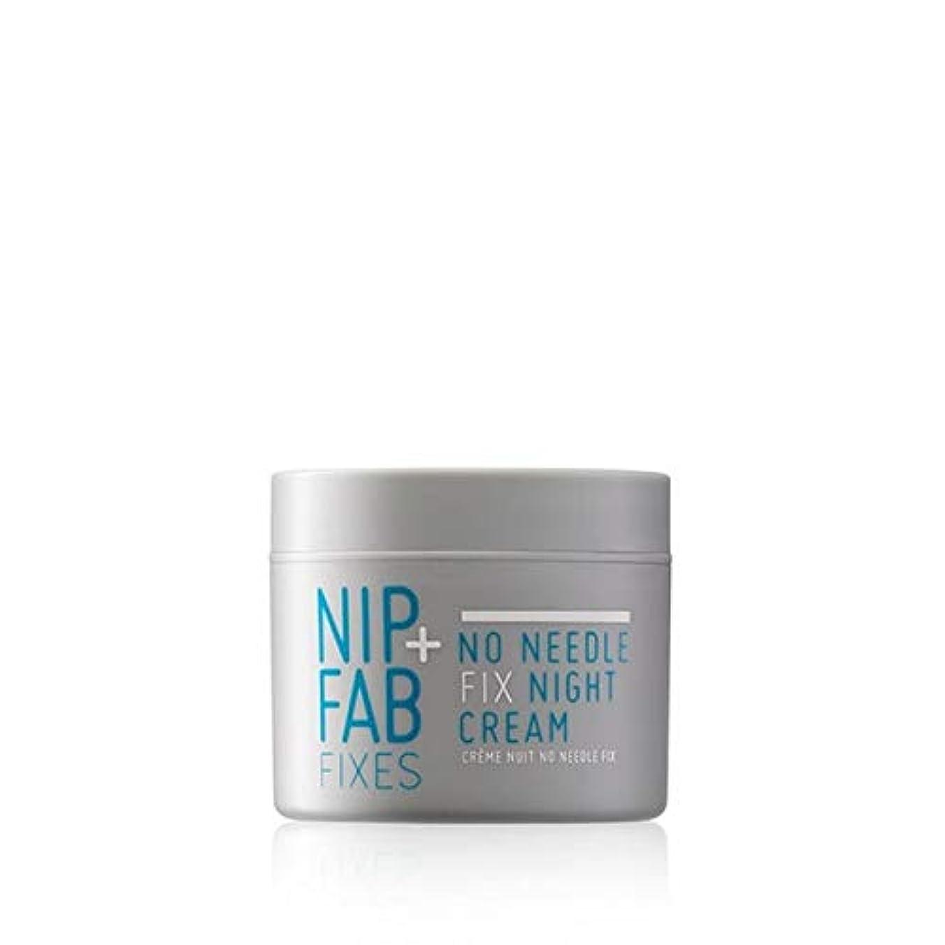 気質汗靴下[Nip & Fab ] 何針修正ナイトクリームをファブない+ニップ - Nip+Fab No Needle Fix Night Cream [並行輸入品]