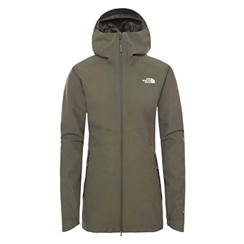 THE NORTH FACE Damen Outdoorjacke Hikesteller Parka Shell Jacket 3BVI New Taupe Green M