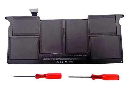 FengWings® 7.3V 35Wh 4680mAh A1406 vervangende accu compatibel met A1370 voor Apple MacBook Air 11